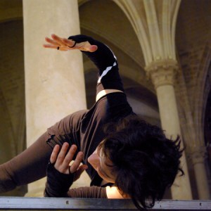 Myriam Gourfink, Breathing Monster, photo Nicolas Chaussy